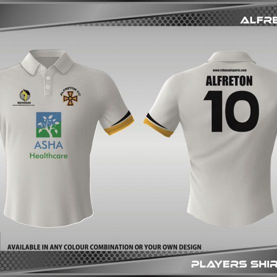 Alfreton cricket shirt